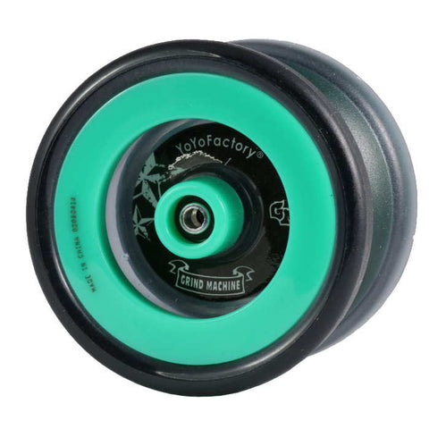 Grind Machine Yo-Yo Dark / Green Rings