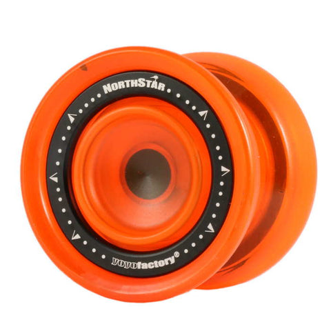 YoYoFactory Northstar Finger Spin Orange