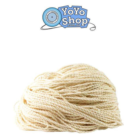 10 Pack HEAVY YoYo Shop Strings WHITE