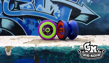 YoYoFactory Grind Machine New Colours