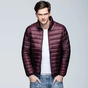 MRMT 2020 Brand Autumn Winter Men's Jackets Upright Collar Short Down Jacket for Male Outer Wear Clothing Garment
