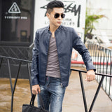 MRMT 2020 Brand Men's Jacket Spring Outerwear New Men's PU Leather Men's Leather Jacket