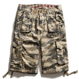 2020 Hot Summer Mens Army Cargo Work Casual Bermuda Shorts Men Fashion Joggers Overall military Camou Trousers Size 38 NO belt