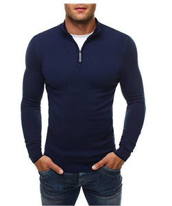 MRMT 2020 Brand New Men's Sweatshirts Leisure Zipper Fashion Solid Color Pullover for Male High-collar Sweater Sweatshirt