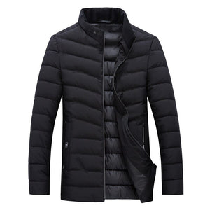 MRMT 2020 Brand Men's Jackets Cotton Padded Clothes Overcoat for Male  Feather Cotton Clothes Jacket Outer Wear Clothing Garment
