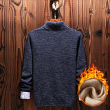MRMT 2020 Brand  New Winter Men's Jackets Turtleneck Sweater for Male Slim Fashion Youth Pullover Jacket Clothing