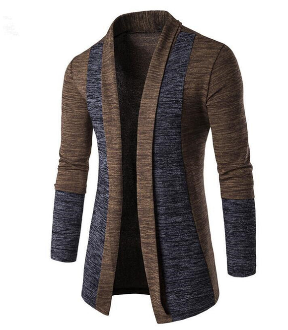 MRMT 2020 Brand New Men's Jackets Sweater Solid Color Casual Splicing Cardigan Overcoat for Male Sweater Jacket Clothing Garment