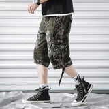 Brand Summer Camouflage Shorts Men Army Cargo Shorts Mens Camo Loose Short Pants Homme Hip Hop Shorts Male Bermuda Trousers  42