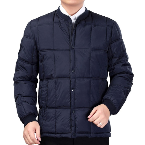 MRMT 2020 Brand Winter Men's Jackets for Male Thickened Feather Down Cotton Inner Liner Leisure and Warmth Jacket Clothing