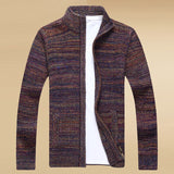 MRMT 2020 brand new men's cardigan sweater long-sleeved youth stand collar casual sweater jacket outside wear clothing