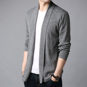 MRMT 2020 Brand Autumn Men's Jackets Cardigan Sweater Slim Fit Youth Overcoat for Male Sweater Jacket Clothing