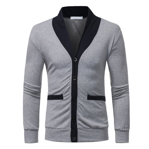 MRMT 2020 Brand Men's Jackets Knitting Shirts V-Collar Long-sleeved Knitwea Overcoat for Male Jacket Outer Wear Clothing Garment