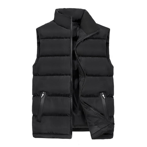 MRMT 2020 Brand Men's Cotton Vest Jackets Warm Large Size Cotton Overcoat for Male Vest Jacket Outer Wear Clothing Garment