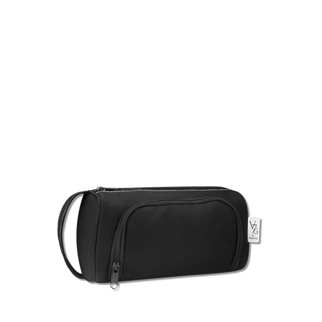 V76 Holiday Canvas Black Dopp Bag