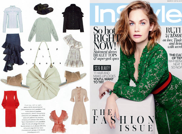 InStyle UK March '16 - The Fashion Issue