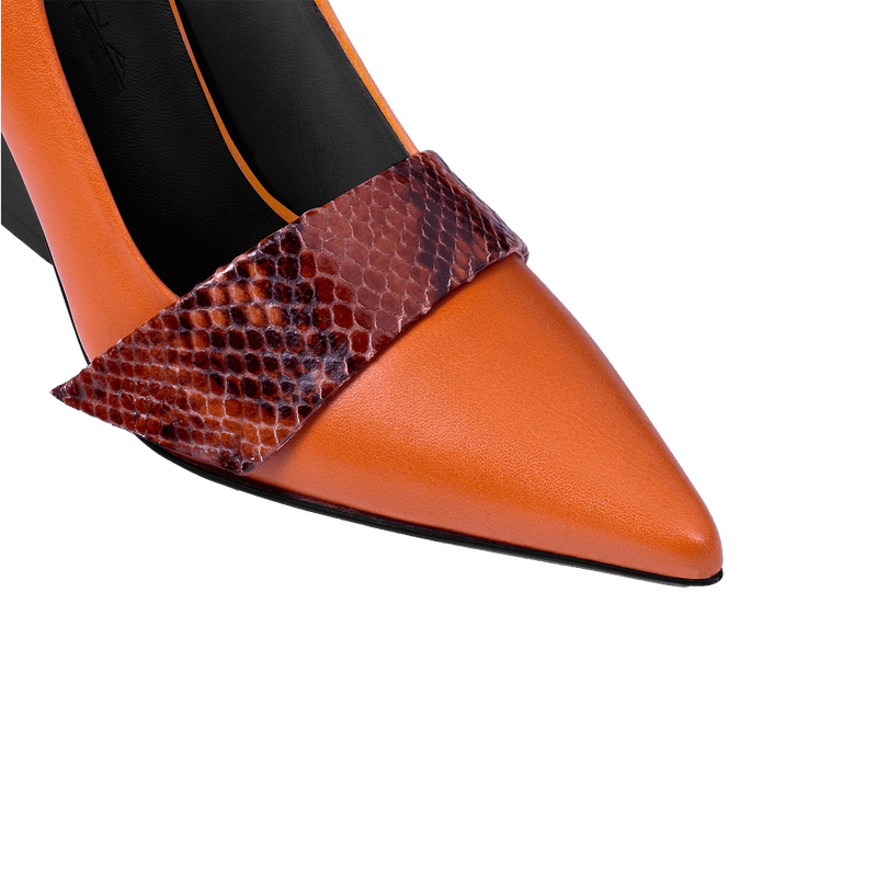Nine to Fiver Terracotta Pump - Strap Detail