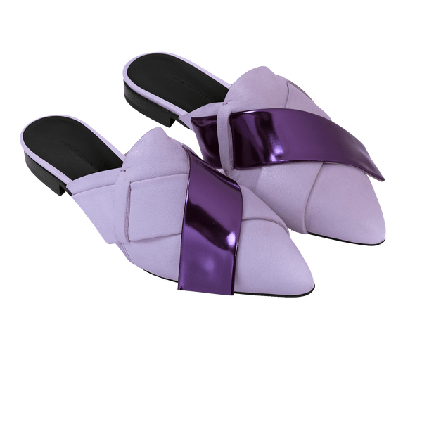 Origami Slipper in Lavender