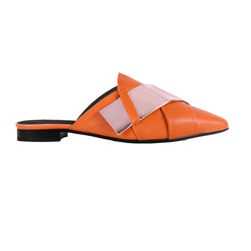 Origami Terracotta Slipper - Profile