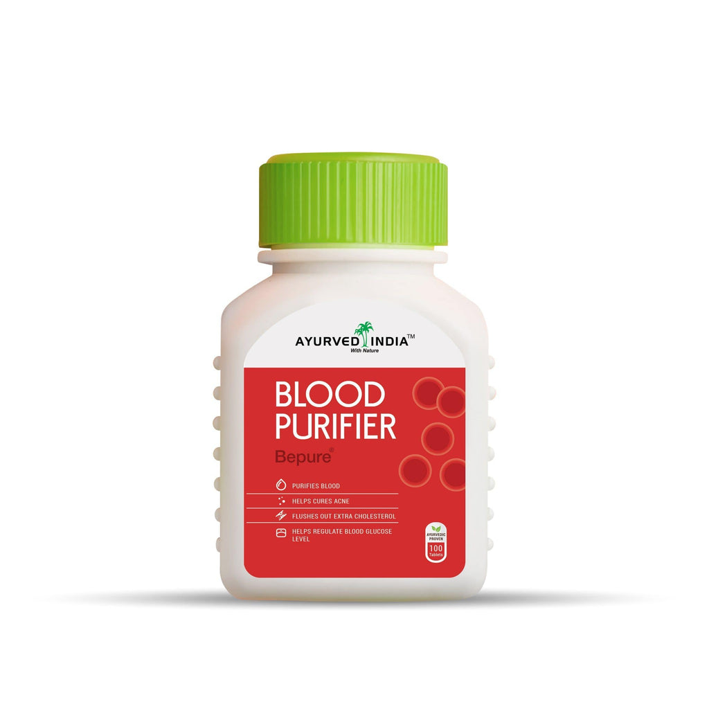 Bepure (Blood Purifier) | 100 Tablets Mix Herbs Ayurved India