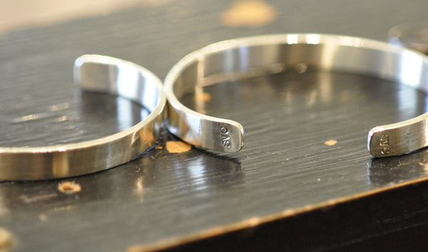 Cuff Sterling Silver: Men's or Women's