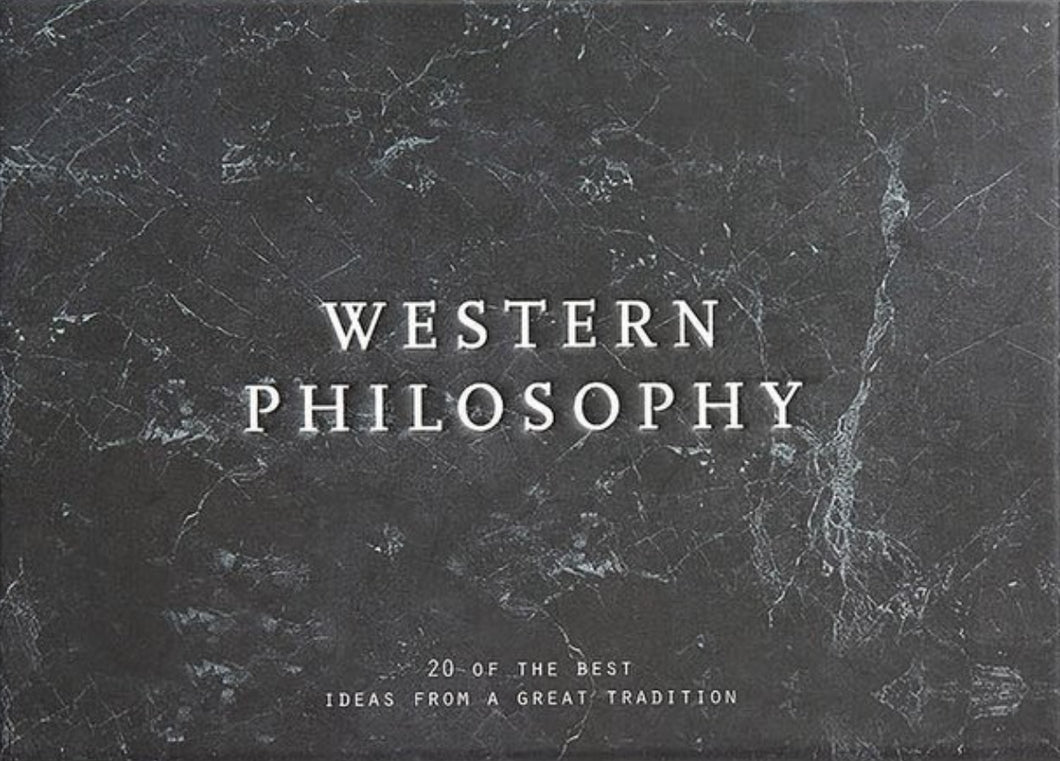 Western Philosophy Card Set