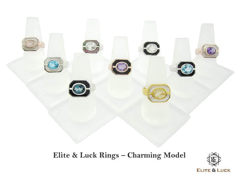 Rings & Earrings - Charming Model
