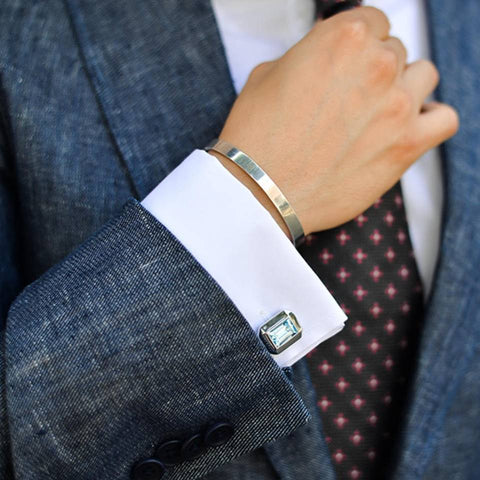 Blake Scott (@blakescott_) with Elite & Luck Cufflinks