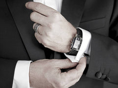 Wearing Cufflinks at Black tie events and office get-togethers
