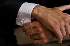 Wearing Cufflinks at Social events and galas