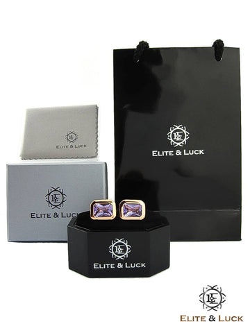 Elite & Luck Cufflinks are packaged in charming handmade jewelry boxes.
