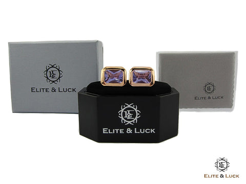 Luxury Gems Cufflinks Gift Ideas for Valentine's Day