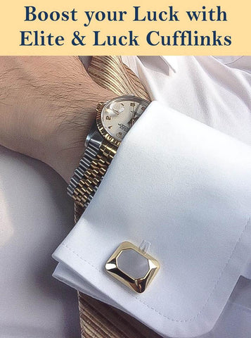 "Download eBook ""Boost your Luck with Elite & Luck Cufflinks"" FREE."
