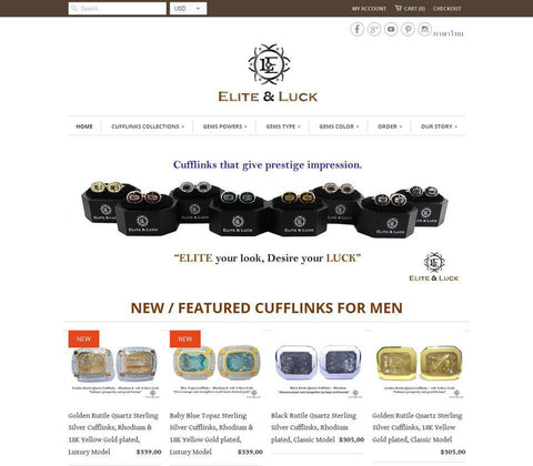The Best Source for Silver Men's Cufflinks on the Internet