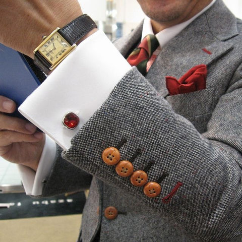 a pair of cufflinks is a great start to turning average worker into something more