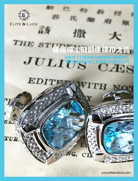 """Elite & Luck Cufflinks"" in the STC Magazine, June 2016."