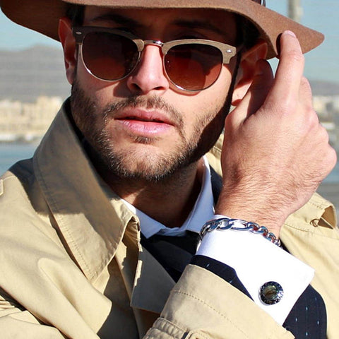 Alberto Bennett (alberto_bennett) with Elite & Luck Cufflinks