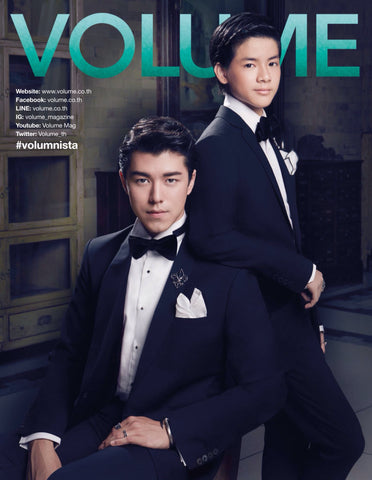 """Elite & Luck Cufflinks"" in Volume Magazine (Thailand), November 2015."