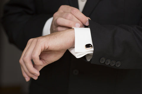 Luxury Gemstone Cufflinks and Men's Accessories