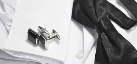 Example of men's cufflinks.
