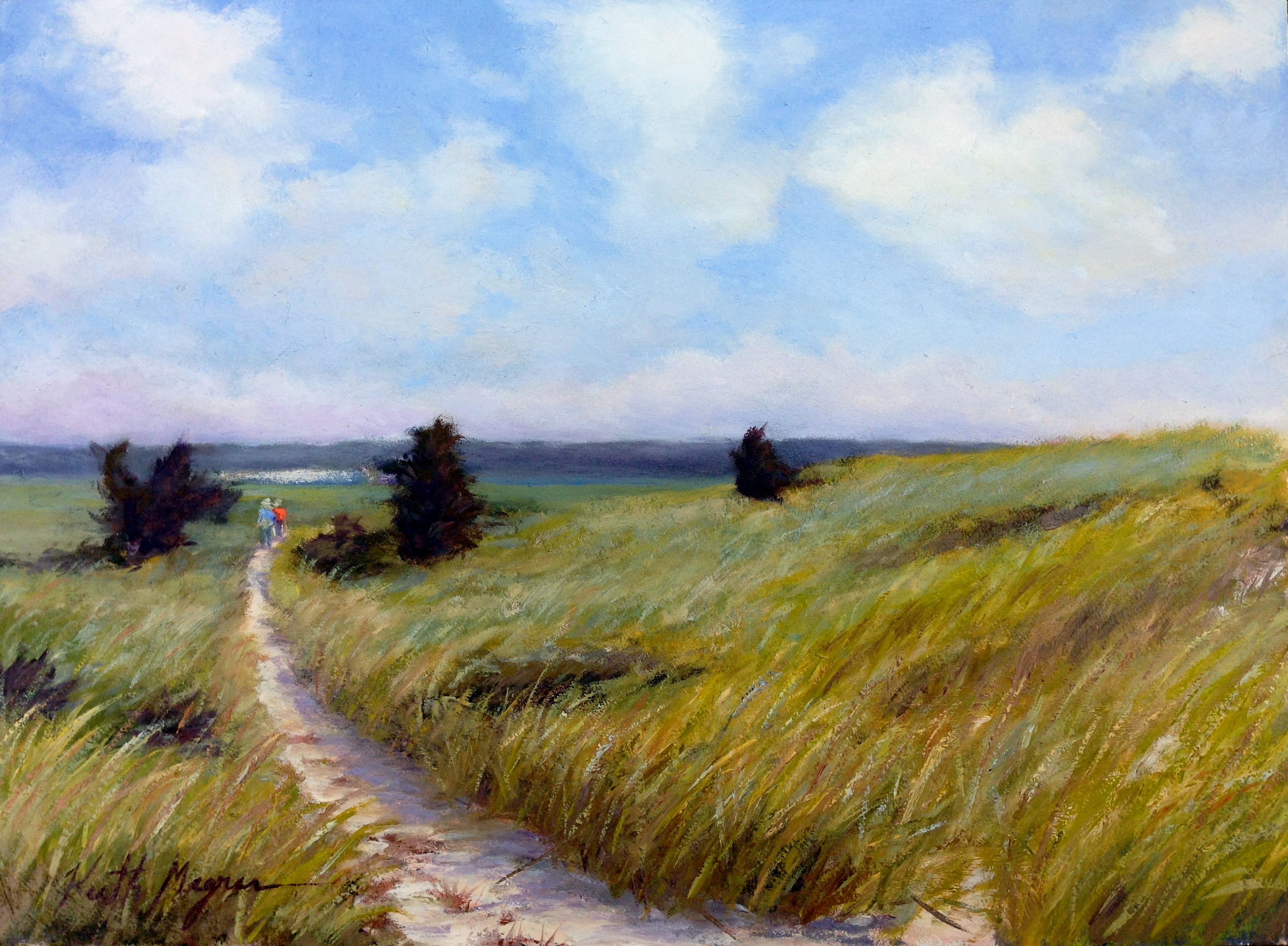 Original plein air painting by Keith Magner featured in CAFA juried national art show.  Browse art for sale for marine paintings, coastal paintings, plein air paintings and landscape paintings under available paintings that can make a unique gift