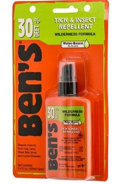 Ben's Insect Repellent Topical Liquid 4 oz. Bottle