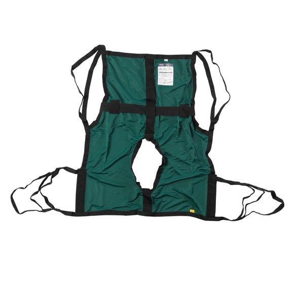 One Piece Sling with Positioning Strap, with Commode Cutout, Medium