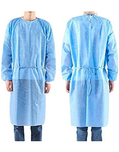Precept Medical Protective Procedure Gown - Adult Large