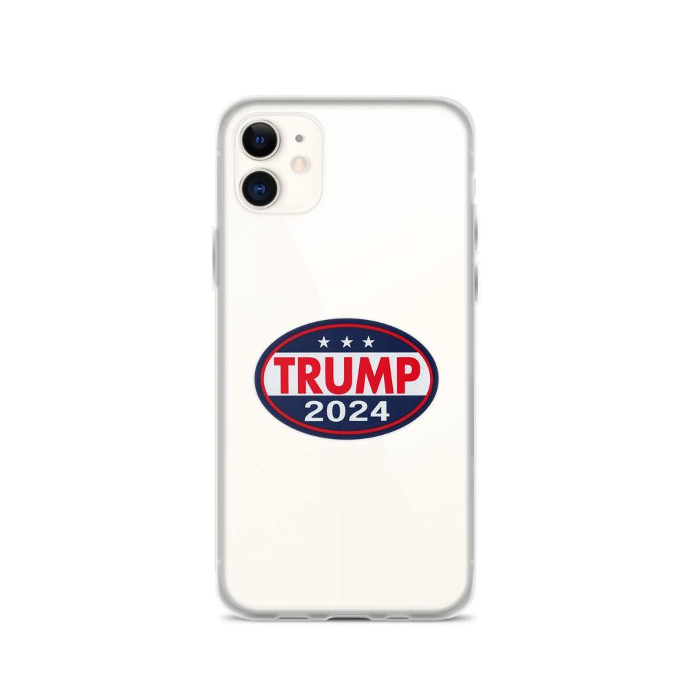 Trump 2024 iPhone Case - Us Against Media