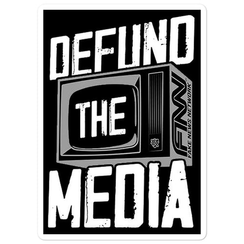 DEFUND MEDIA Stickers - Us Against Media