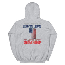 Load image into Gallery viewer, Freedom For Liberty Sleeve And Badge Unisex Hoodie