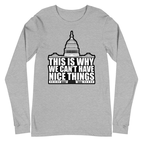 This Is Why! Unisex Long Sleeve Tee - Us Against Media