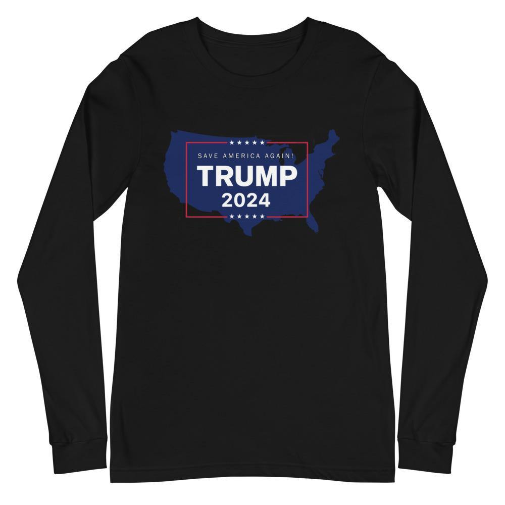 Trump 2024 USA Unisex Long Sleeve Tee