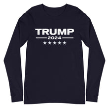 Load image into Gallery viewer, Trump 2024 Unisex Long Sleeve Tee
