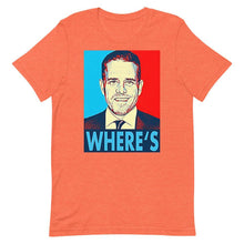 Load image into Gallery viewer, Where's Hunter? Short-Sleeve Unisex T-Shirt